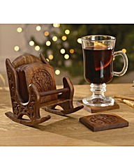 Rocking Chair Coasters Set of 6