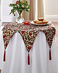 Brocade Star Centrepiece with Tassels