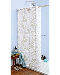 Lydia Hookless Shower Curtain