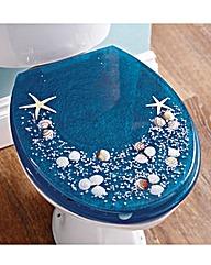 Seaside Resin Toilet Seat