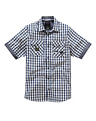 Hamnett Gold Hyde Short Sleeve Shirt Reg