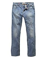 Lambretta Stonewash Denim Jean 33in Leg
