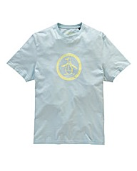 Original Penguin Circle Logo T-Shirt R