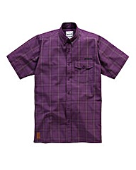 Lambretta Short Sleeve Check Shirt