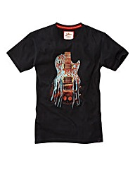 Joe Browns Guitar T-Shirt Regular