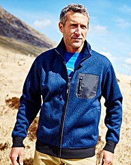 Snowdonia Full Zip Bonded Fleece Reg
