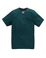 Jacamo Teal Basic V-Tee Long
