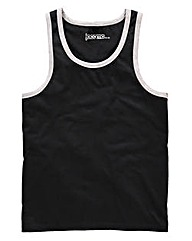 Jacamo Black Callahan Vest Top