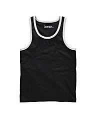 Jacamo Black Callahan Vest Top