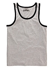 Jacamo Grey Callahan Vest Top
