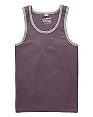 Jacamo Plum Callahan Vest Top