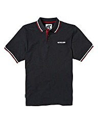 Nickelson Basic Black Polo