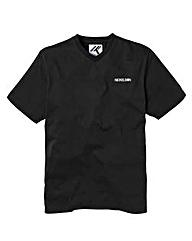 Nickelson Black V-Neck T-Shirt
