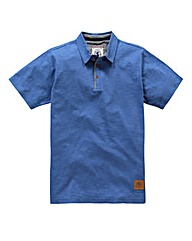 Flintoff By Jacamo Slub Polo Regular