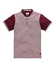 Flintoff by Jacamo Colour Block Polo Lon