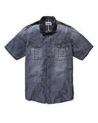 Mish Mash Croydon Short Sleeve Shirt Reg