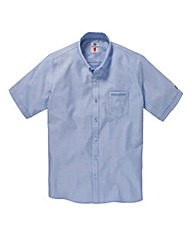 Lambretta Short Sleeve Oxford Shirt Long