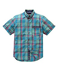 Voi Myth Short Sleeve Check Shirt