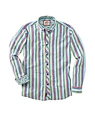Joe Browns Summer Stripe Shirt Reg