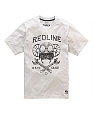 Jacamo Dallam Print T-Shirt Long