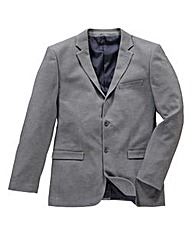 Black Label Holt Jersey Blazer Long