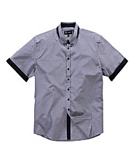 Black Label by Jacamo Gingham Shirt R