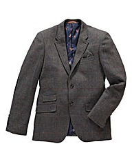 Black Label by Jacamo Tweed Blazer R