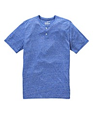 Jacamo Griffin Blue Marl T-Shirt Long