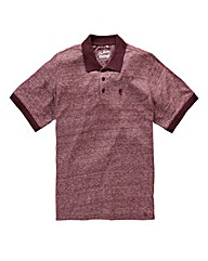 Jacamo Griffin Red Marl Jersey Polo R