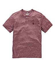 Jacamo Griffin Red Marl T-Shirt Long