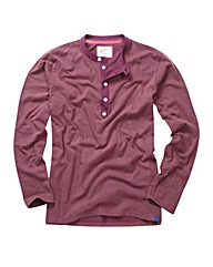 Joe Browns L/S Henley Top Regular