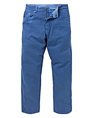 UNION BLUES Dark Blue Gaberdine Jeans 33