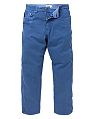 UNION BLUES Dark Blue Gaberdine Jeans 35