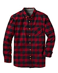 Label J Flannel Checked Shirt Long