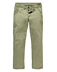 Vintage Distressed Chino 33In