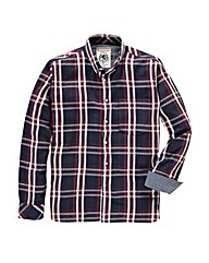 Flintoff By Jacamo Check Shirt Reg