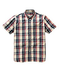 Jacamo Norris Short Sleeve Check Shirt L