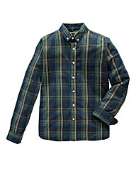 Jacamo Andrew Long Sleeve Check Shirt L