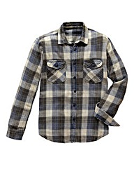 Jacamo Daniel Long Sleeve Check Shirt L