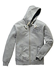 Jacamo Brandon Full Zip Hood Long