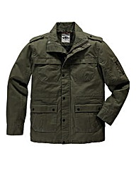 Flintoff By Jacamo Military Jacket Long