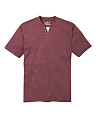 Jacamo Plum Layered T-Shirt R