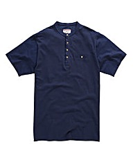 Flintoff By Jacamo Navy T-Shirt Long