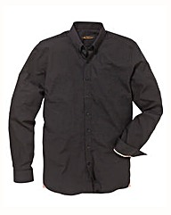 Ben Sherman L/S Black Poplin Shirt Long