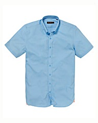 Ben Sherman S/S Sky Poplin Shirt Long