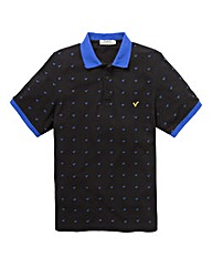 Voi Black Swirl Polo