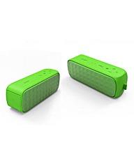 Cello Portable Bluetooth Speaker - Green