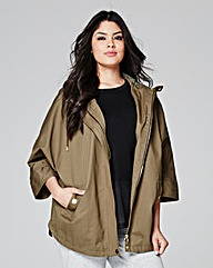 Lightweight Cotton Utility Cape