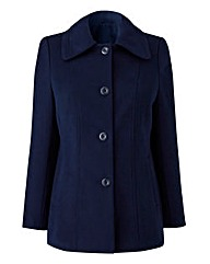 Navy Short Coat