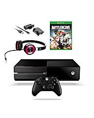 Xbox 1+ battleborn+ headset+ charge